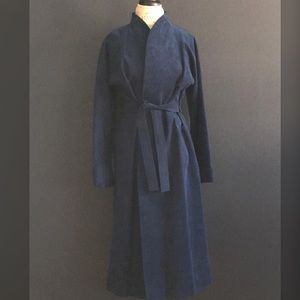 Vintage Ultra Suede Trench